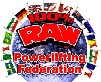 100% Raw Powerlifting Logo